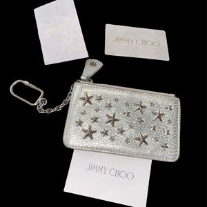 Authentic  jimmy Choo coin purse wallet